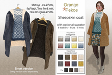 Orange*Pekoe - Sheepskin coat (short)