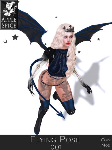 Apple Spice - Flying Pose 001