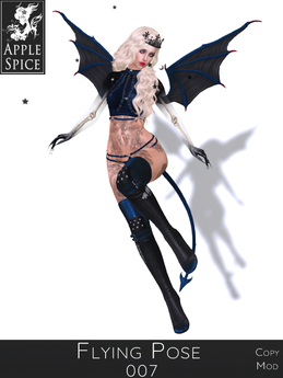 Apple Spice - Flying Pose 007