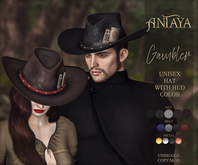 ":: ANTAYA :: Unisex hat ""Gambler"" (wear)"