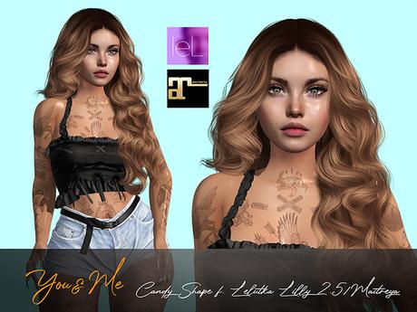 Candy Shape for Lelutka Lilly 2.5 / Maitreya Lara