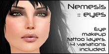 [:T:] Nemesis eye makeup tattoo layers