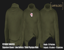 UNFOLDED //  Psykore Sweater // Green