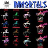 Culprit Immortals Carousel Pegasus (rare)