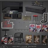 Bee Designs Secret Club Skybox 2 RARE