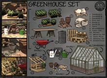 [IK] Greenhouse Set - Greenhouse Ultrarare