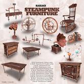 BJK* Steampunk Furniture Rocking Chair