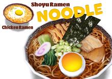 [ FULL PERM ] NOODLE - Shoyu & Chicken Ramen