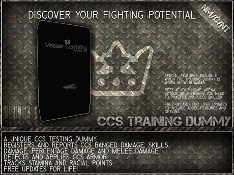 [M E S S E R Co.] Training Dummy V1.5