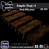 Simple Desk v2