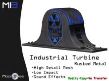 [MB3] Industrial Turbine - Rusted Metal