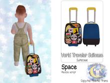 {SMK} World Traveler Suitcase | Space