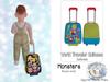 {SMK} World Traveler Suitcase | Monsters