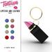 Tantrum - Lipstick & Leather Purse -