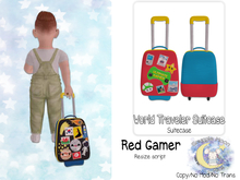 {SMK} World Traveler Suitcase | Gamer Red