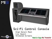 [MB3] Sci-Fi Control Console