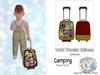 {SMK} World Traveler Suitcase | Camping
