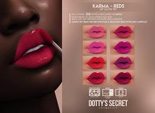 Dotty's Secret - Karma [REDS] - Lip Gloss Set [GENUS]