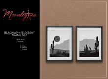 Moonley Inc. - Black&White Desert Frame Set