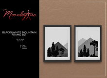 Moonley Inc. - Black&White Mountain Frame Set