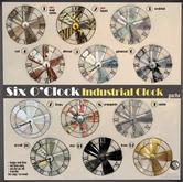 !six o'clock! [INDUSTRIAL CLOCK-4] Rust