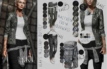 RKKN. Leah's WaistShirt Plain RARE