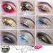 Catwa Gold Eyeshadow Metallic Makeup