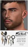 MARKED - Lightning Earring & Nose Ring Fatpack