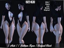 [ Mesh ] [ Inithium Kupra ] Bodysuit Black