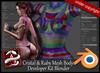 EVE Developer Kit Body Cristal & Ruby  Blender