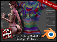 EVE Developer Kit Body Cristal & Ruby  Blender