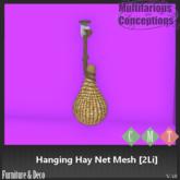 [MC] Mesh Hanging Hay Net 2LI Boxed  [add me]