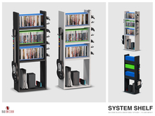 System Shelf (Includes Black & White Versions)