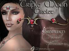 ☽◯☾ Triple Moon Collection: Branwen - Triple Moon Circlet