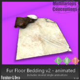 [MC] Fur Floor Bedding v2 - animated Boxed  [add me]