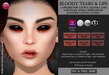 Izzie's - Bloody Tears & Lips
