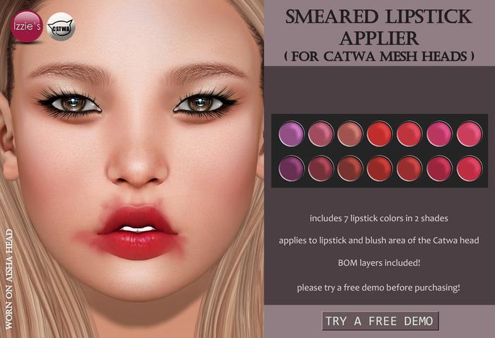 Izzie's - Smeared Lipstick Applier (Catwa)