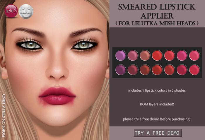Izzie's - Smeared Lipstick Applier (LeLutka)