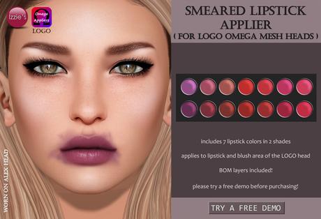 Izzie's - DEMO Smeared Lipstick Applier (LOGO)