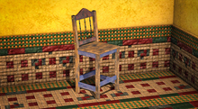 <Aphrodite> Mexican chair yellow (Boxed)