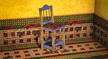 <Aphrodite> Mexican chair red (Boxed)