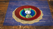 <Aphrodite> Mexican  Place setting (Green) (Boxed)