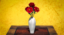 <Aphrodite>  Mexican vase with flowers (Boxed)