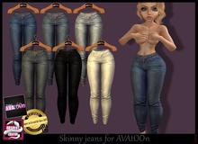 ^v^ Skinny Jeans 1 For AVAtOOn