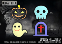 Rumah Kita - Spooky Halloween - Neon Fatpack