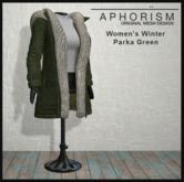 !APHORISM! Winter Parka Women - Green