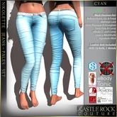 :KR: Nikolette Jeans - Pales - Cyan (Add Me)
