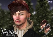 OLEANDER X FALKON - Nicholas (unrigged alpha mesh hair)