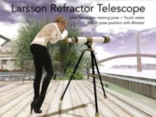 Authentic Looking Refractor Telescope!