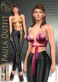 ***ArisArisB&W~Paula Outfit- Custom HUD(ADD)